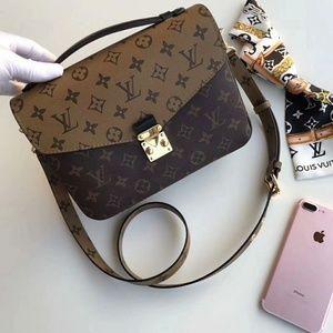 Louis Vuitton Reverse Metis Check Description